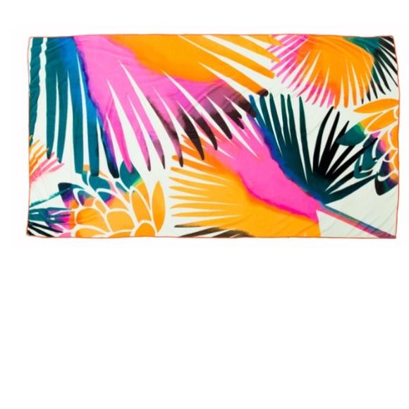 Summer Rose Accessories Oversized Summer Rose Beach Towel New